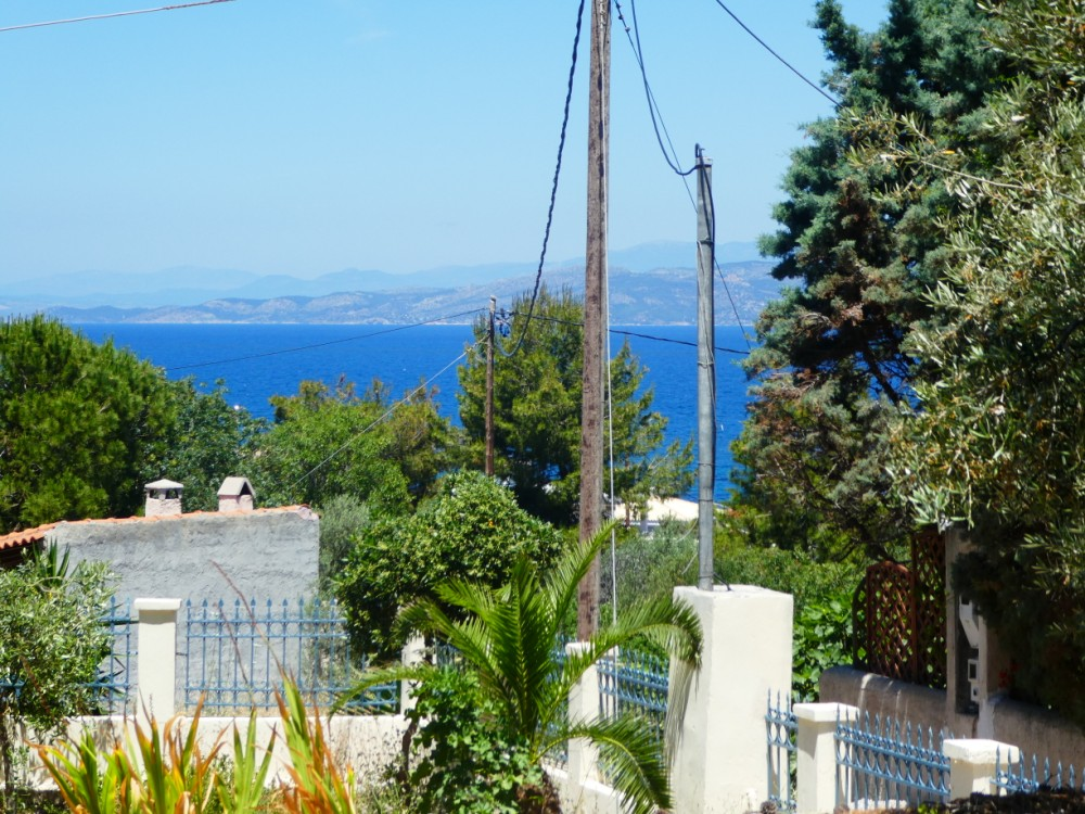Land plot in the north east of the island - Property Aegina