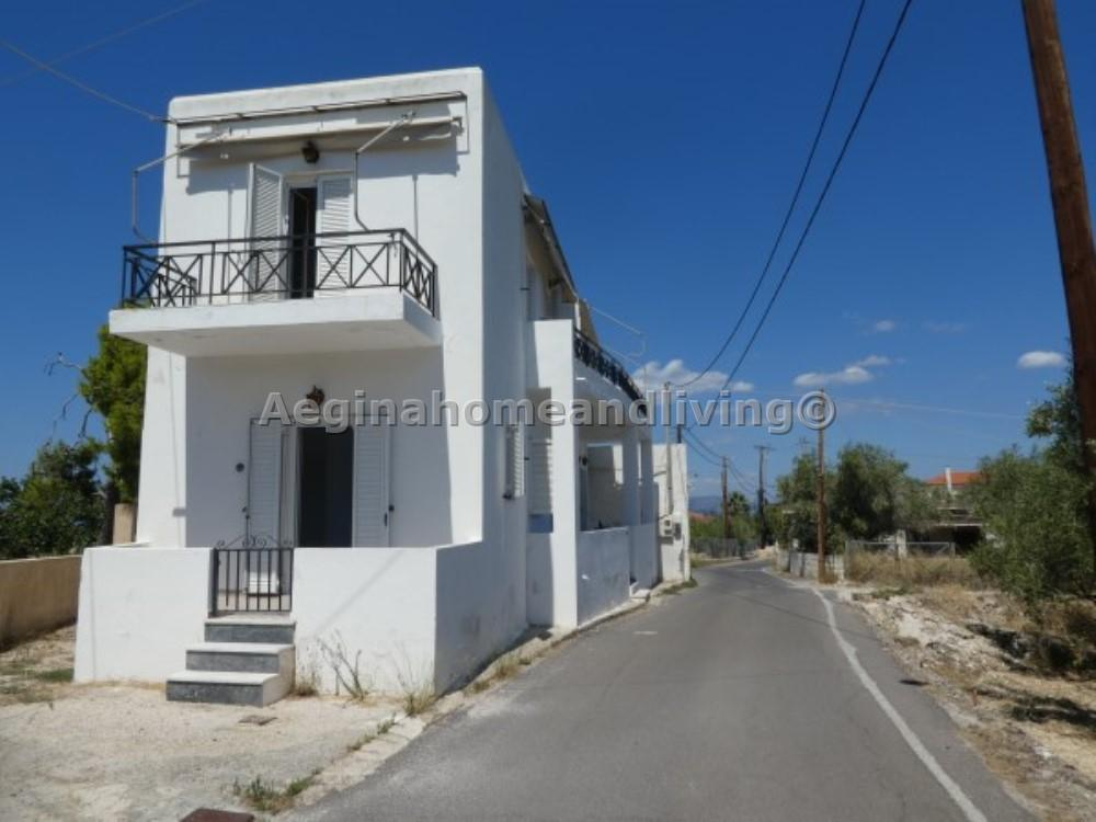 Two apartments, ground level and first floor in Leonti - Property Aegina